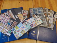 World - lot of Stamps with 2 binders and display sheets