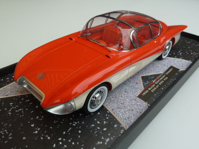 Minichamps - Scale 1/18 - Buick Centurion Concept 1956 - Red / Cream