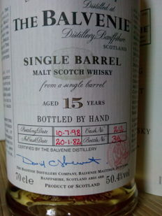 Balvenie 1982 single Barrel 15 years old - OB