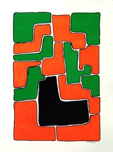 """Marino Rose - From the """"Puzzle"""" series"""