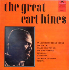 8 Rare & Mega Rare Jazz Records - Earle Hines - The Great Jazz Trio N.Y.Sophisticate - Sydney Bechet - Jackie Paris - Winifred Atwell  and others.