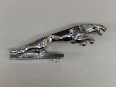"Jaguar - Chrome Jaguar Mascot Leaper Cat 5"" Genuine Model Stamped 7/24265/3WBB"