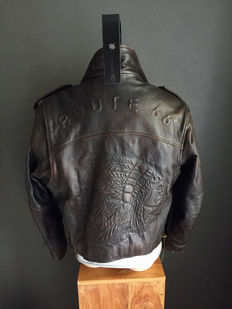 Route 66 - leather - vintage motorcycle jacket
