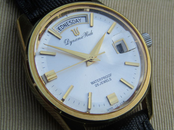 Ricoh men's wristwatch 1960s