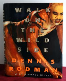 "Dennis ""The Worm"" Rodman - Original signed (hardcover) book + COA JSA"