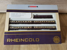 Arnold N - 0142 - 5-part Rheingold Express carriages of the DRG, with interior lighting