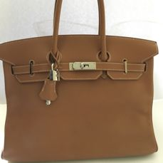 Hermès - Birkin 35 Swift leather Handbag