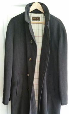 Loro Piana - Long raincoat in wool