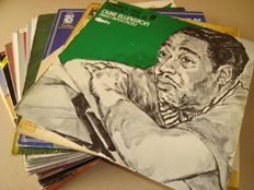 Classic Jazz: Very nice selection: 20 albums (including 3 double albums!) by jazz legends: Duke Ellington/ Johnny Hodges/ Terry Gibbs/ Benny Goodman/ Don Byas/ Della Reese/ Sydney Bechet/ Billy Eckstine and many other!