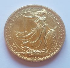 Great Britain - 50 Pounds 1993, Elizabeth II - ½ oz of gold
