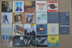 "nice lot of 22 hit singles famous by  ""Sky Channel & MTV""  from the 80's U.K. new wave and cult-bands/artists"