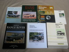 Range Rover and Landrover - 7 books - English - 1985 to 2002