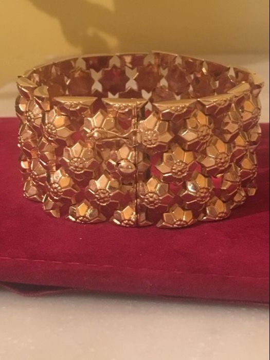 Bracelet from the 1950s in 18 kt gold