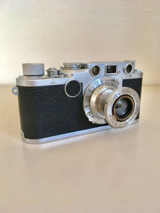 Leica llf with Leitz Elmar F3.5/5cm in neat, working condition