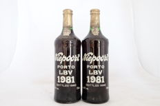 1981 Late Bottled Vintage Port Niepoort - 2 bottles