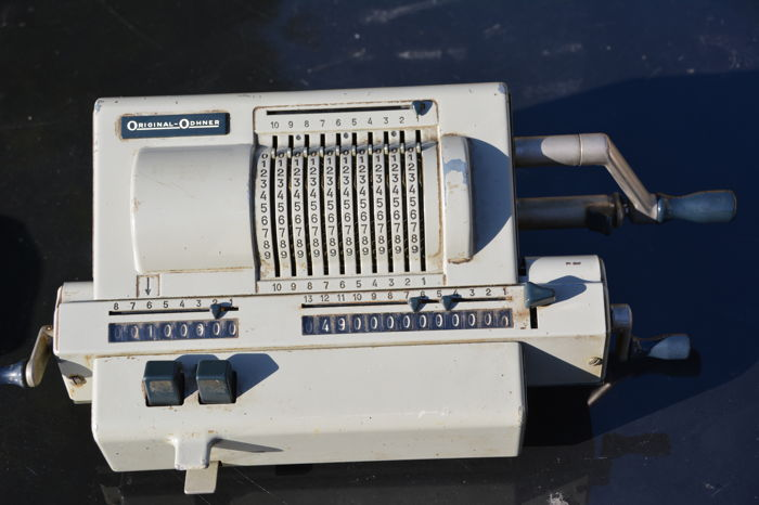 Zweedse Rekenmachine ORIGINAL ODHNER Model 229