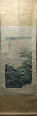 "Painting ""jiangnan chunxiao tu"" - China - late 20th century"