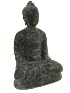 Bronze Buddha – India – late 20th century