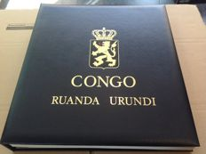 Belgian-Congo and Ruanda-Urundi 1887/1959 – Collection in three albums