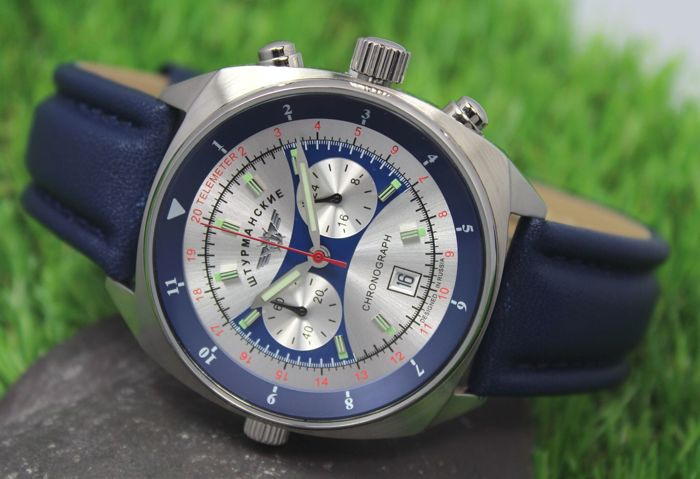 Sturmanskie – Mens - Apollo-Soyuz - Special Edition - Chronograph Watch - New