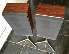 Bang & Olufsen B&O BeoVox S45 type 6302 matched pair (14240080);  speakers from the seventies