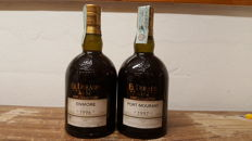 1 Rum El Dorado Rare Collection Enmore 1996 + 1 Rum El Dorado Rare Collection Port Mourant 1997