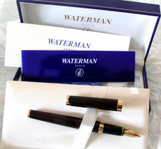 A gorgeous Waterman L'Etalon fountain pen in burgundy, scarce NOS.
