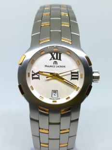 Maurice Lacroix - Milestone - 79861 - 18kt gold-plated & steel