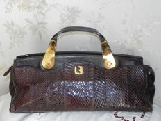 Louis Feraud Paris – beautiful vintage women's bag - bag is brown and gneuine leather