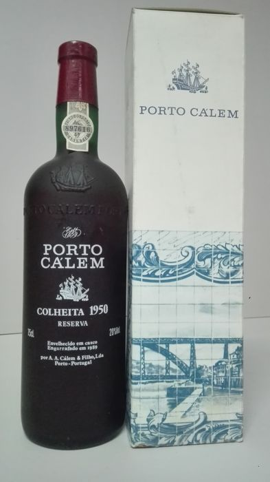 1950 Colheita Port Calém - bottled 1989