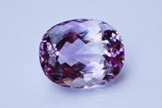 'Rose de France' Amethyst - 103.49 ct