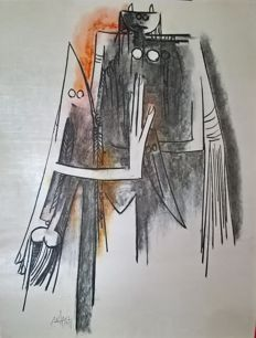 Wilfredo  Lam - Untitled