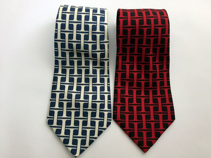 Hermes - Ties - Lot of 2