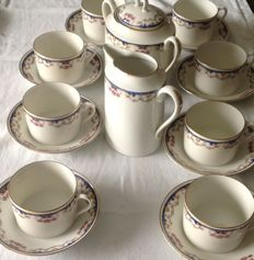 Coffee set Limoges Art Deco