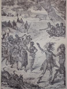 Livingstone's life work or Africa and its explorers - 1875