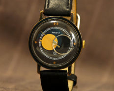 Raketa Copernicus - mens watch - wrist watch - sun and moon watch - 1990th