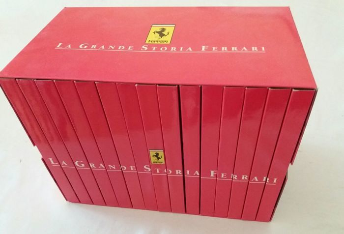 Ferrari - Complete 15 DVD collection, La Grande Storia, Over 10 hours of viewing with wonderful videos and images