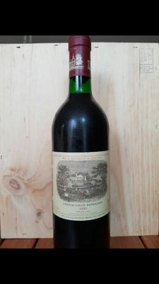 1986 Chateau Lafite Rothschild, Pauillac - 1 bottle (75cl) - Parker 100 pts