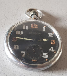 27. Jaeger LeCoultre - military pocket watch - Switzerland 1940