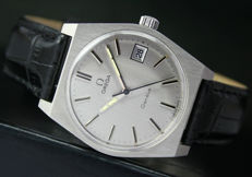 Omega Geneve Winding Date Steel Mens Watch