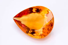 Citrine - Orangey - 82.42 ct in total