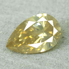 Diamond - 1.01 ct Natural Fancy Brownish Orange