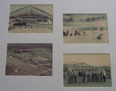 Flying camera Eindhoven airport  -  Collage Eindhoven airport