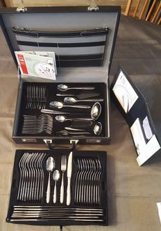 Lim edition - 72-piece complete cutlery in cutlery case - 18/10 stainless steel