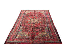 Remarkable handmade Persian carpet: Antique Bidjar - IRAN 305 x 200 cm circa 1970!