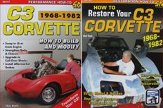 2 Books on Corvette C3 - How to Restore