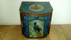 Shop supply tin N.V. (joint stock company) Van Melle's Confectionery Breskens Holland