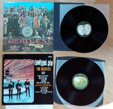 The Beatles. St pepper's lonely hearts club band & Something new. Apple Early Japan pressings.(1972/1970)