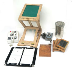 Old darkroom equipment