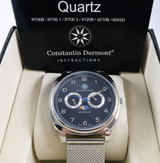 Constantin Durmont men's wristwatch - Swiss made - NEW